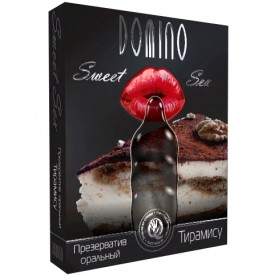 "Презерватив DOMINO Sweet Sex ""Тирамису"" - 1 шт."