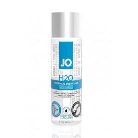 Охлаждающий лубрикант на водной основе JO Personal Lubricant H2O COOLING - 60 мл.