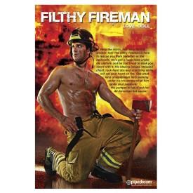 Надувная секс-кукла пожарник Filthy Fireman Love Doll